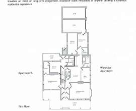 Floor Plan Apt A