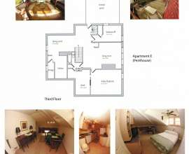 Floor Plan Apt E (Penthouse)